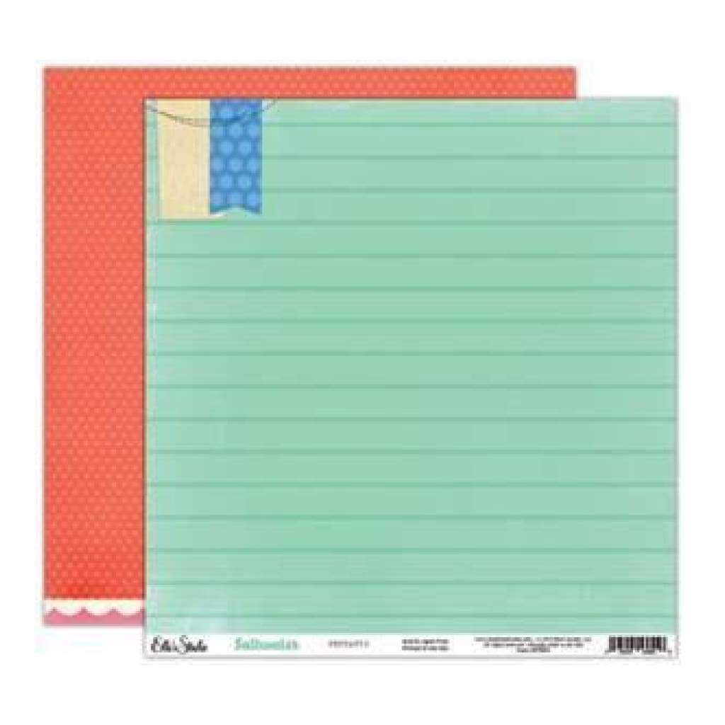 Saltwater - Pennants 12X12 D/Sided Paper (Pack Of 10)