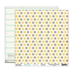 Saltwater - Polkadots 12X12 D/Sided Paper (Pack Of 10)