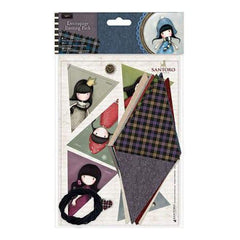 Santoro Gorjuss Tweed Decoupage Bunting Pack