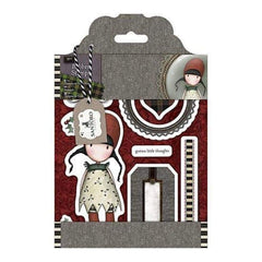 Santoro Gorjuss Tweed Rubber Stamps Holly