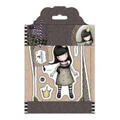 Santoro Gorjuss Tweed Rubber Stamps My Own Universe