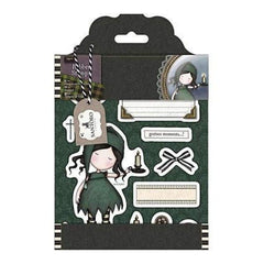 Santoro Gorjuss Tweed Rubber Stamps Nightlight