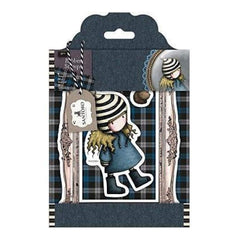 Santoro Gorjuss Tweed Rubber Stamps The Friendly Hedgehog