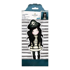 Santoros Gorjuss Large Rubber Stamp Piracy