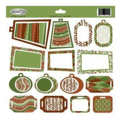 Sassafras Lass - Jingle Bell Rock Die Cut Tags