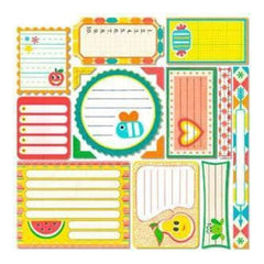Sassafras Lass - Me Likey - Journal Tags Stickers