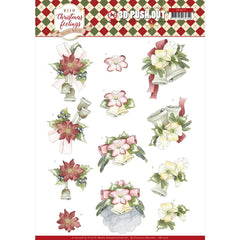 Find It Trading Precious Marieke Punchout Sheet - Christmas Bells, Warm Christmas Feelings
