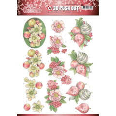Find It Trading - Jeanines Art Punchout Sheet - Ornaments, Lovely Christmas