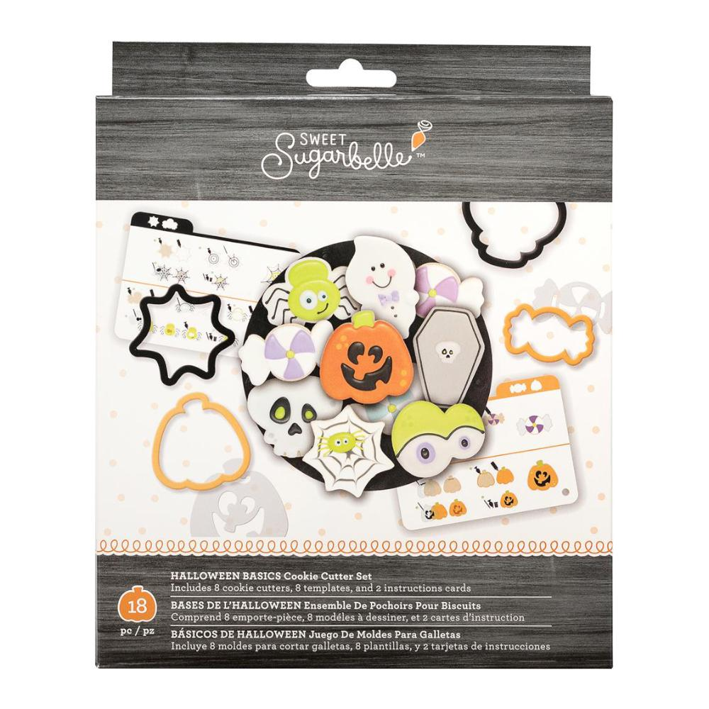 Sweet Sugarbelle Cookie Cutter Set 18 pack Halloween Basics