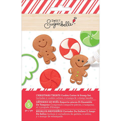 Sweet Sugarbelle Cookie Cutter & Stamp Set 5 pack Christmas Treats