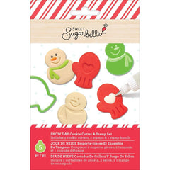 Sweet Sugarbelle Cookie Cutter & Stamp Set 5 pack - Snowy Day