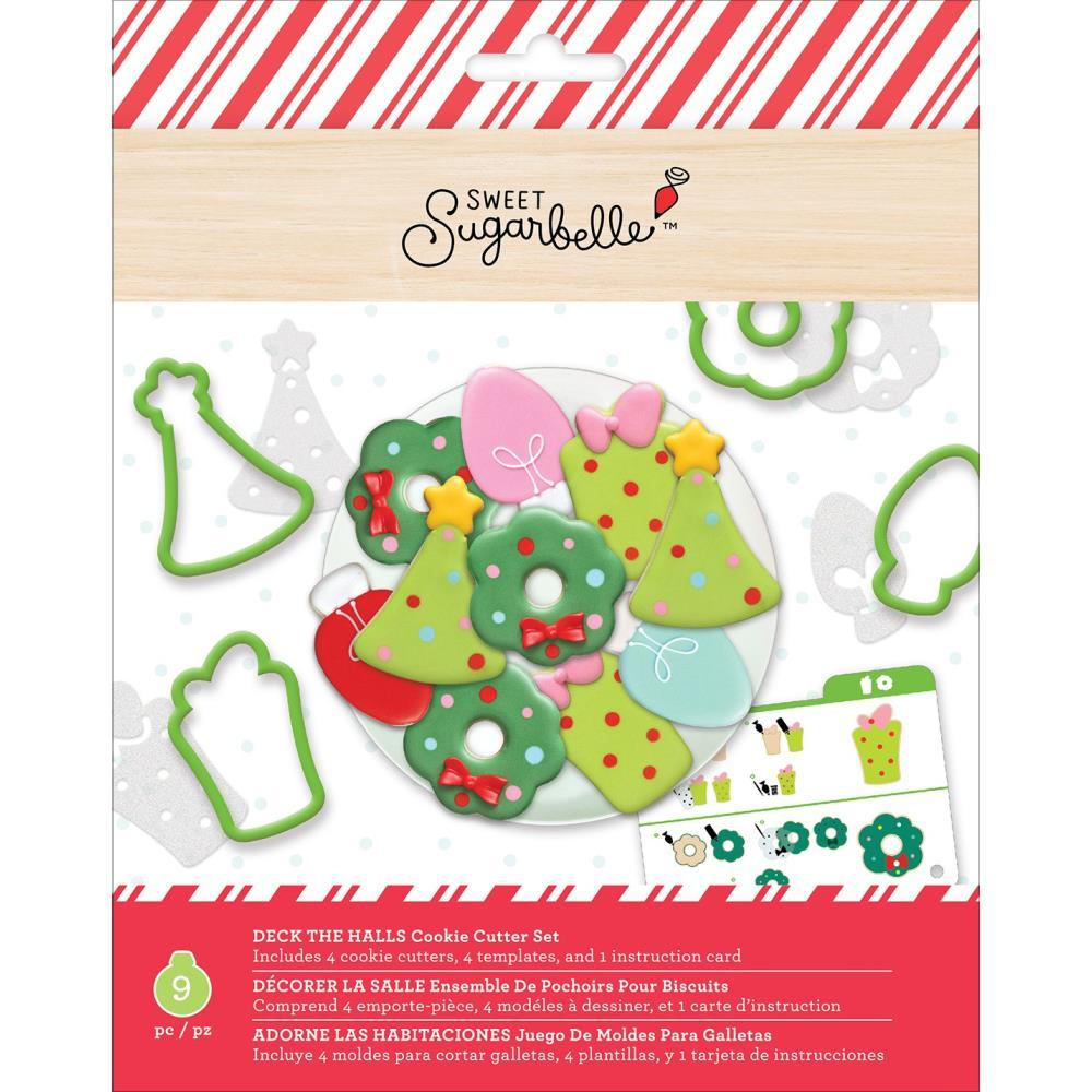 Sweet Sugarbelle Cookie Cutter Set 9 pack Deck The Halls