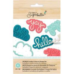 Sweet Sugarbelle Specialty Cookie Cutter Set 4 pack Words