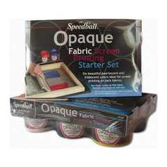 Speedball Art - Opaque Fabric Screen Printing Starter Kit