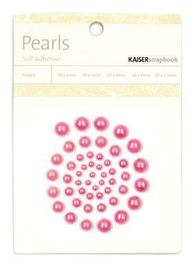 Kaisercraft Embellishments - Pearls - Hot Pink