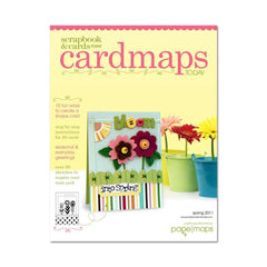 Scrapbook & Cards Today - Cardmaps Today Spring 2011