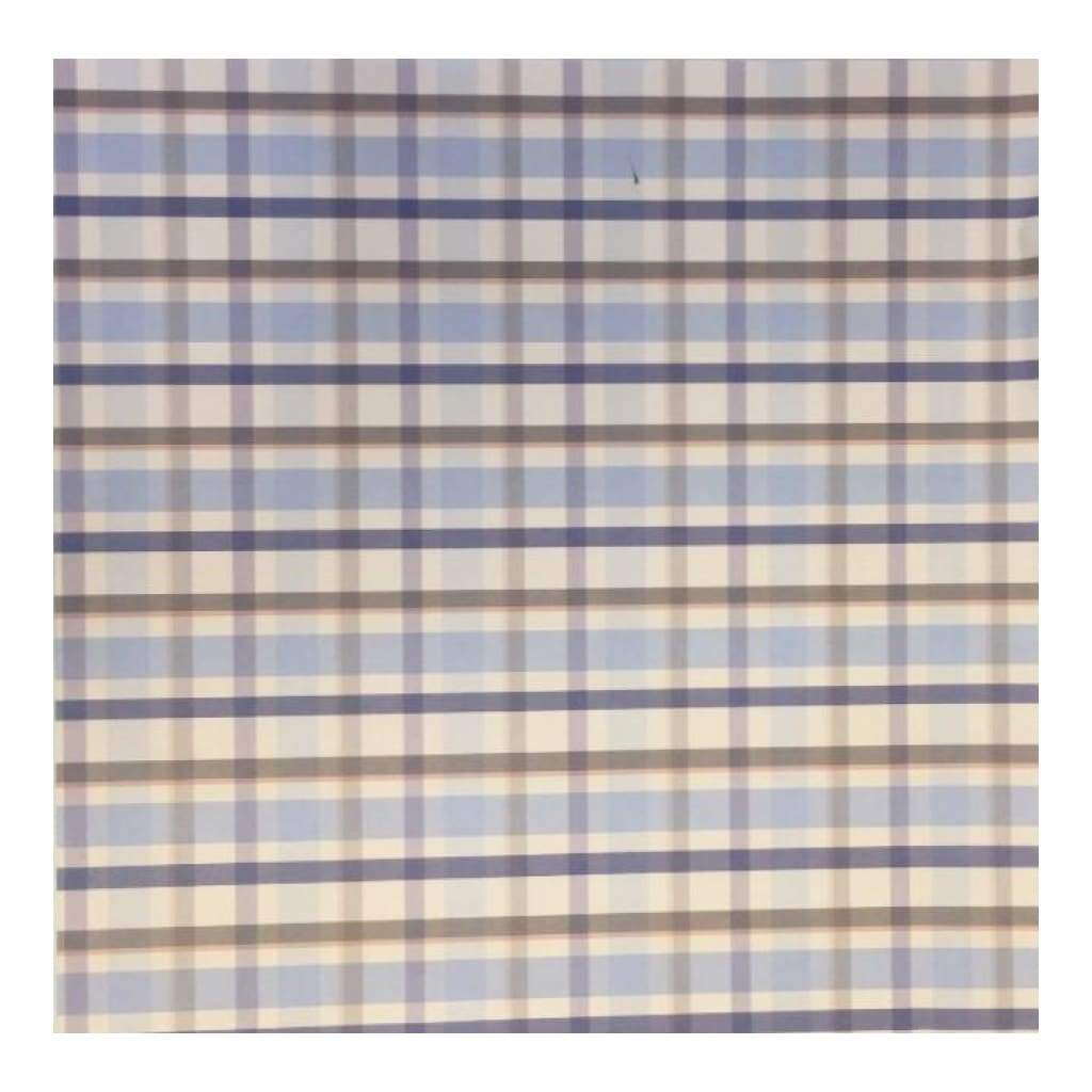Scenic Route Paper Co - Narragansett Bay Plaid 12x12 Paper