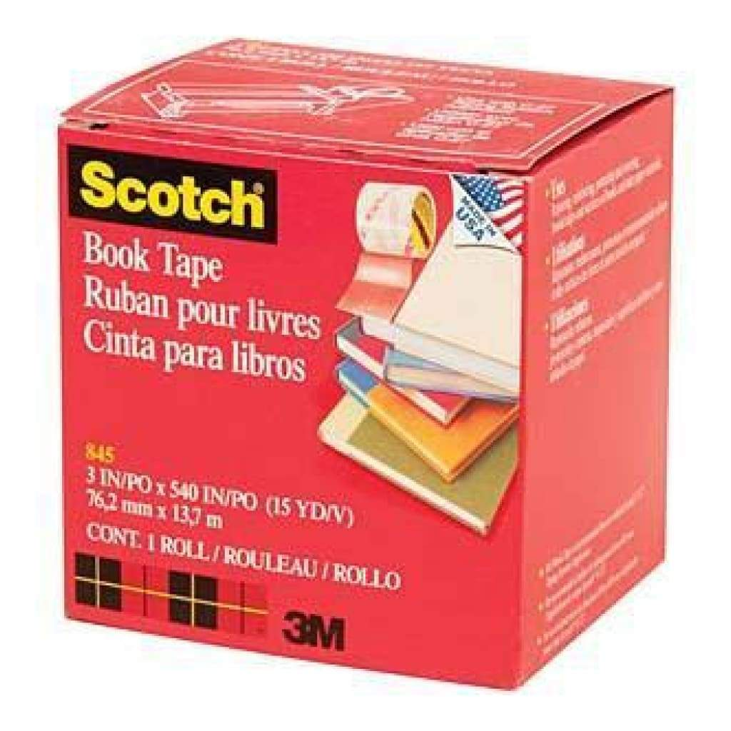 Scotch  Book Repair Tape 3Inch X15yd