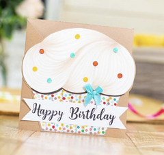 Crafters Companion Mix & Match Clear Stamps Happy Birthday