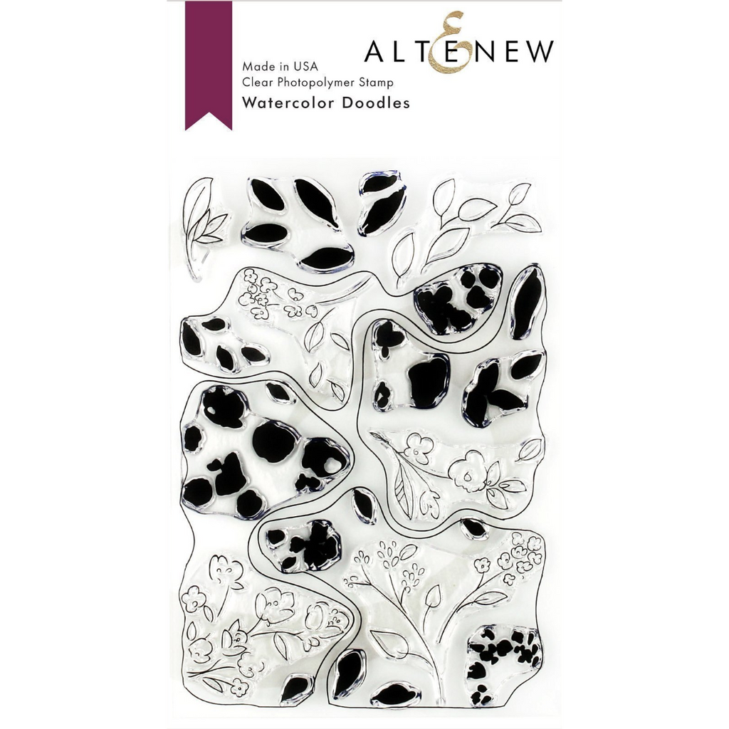 Altenew - Watercolour Doodles Stamp Set
