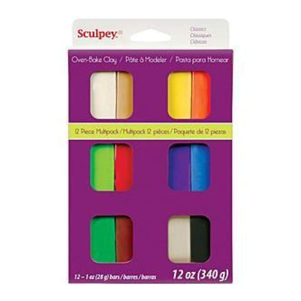 Sculpey Iii Multi Packs - Classics