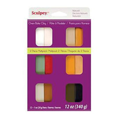 Sculpey Iii Multi Packs - Naturals