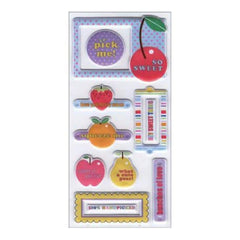 Sei - Fruit Stand Puff Element Stickers