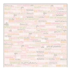 Sei - Girly Gab 12X12 Patterned Paper  (Pack Of 10)