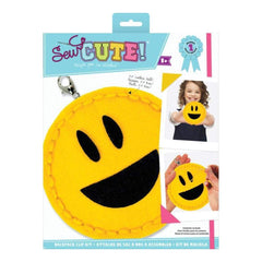 Sew Cute! Mini Felt Kit Emoji Open Mouth Smile