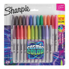 Sharpie Cosmic Colour Fine Point Markers 24 pack