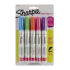 Sharpie Medium Point Oil-Based Opaque Paint Markers 5/Pkg Aqua Orange Lime Green Pink & Purple