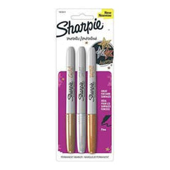 Sharpie Metallic Permanent Markers 3 Pack