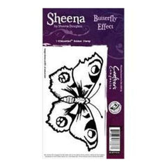 Sheena Douglass Cling Stamp 4Inch X4inch  Butterfly Effect