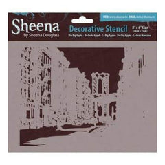Sheena Douglass Decorative Stencil 8In.X6in. The Big Apple