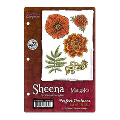 Sheena Douglass Perfect Partner Stamps - Marigolds