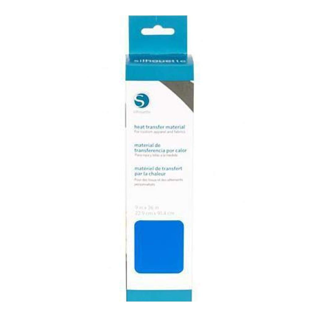 Silhouette - 9 Inch X 36 Inch  Smooth Heat Transfer - Blue