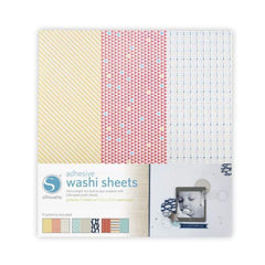 Silhouette - Adhesive Washi Sheets