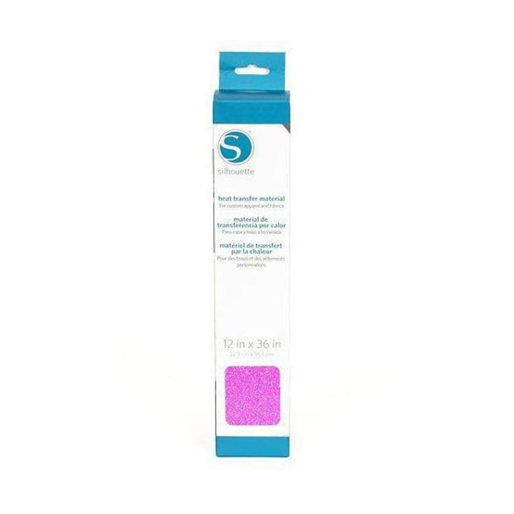 Silhouette - Glitter Heat Transfer Material - 12 Inch - Pink