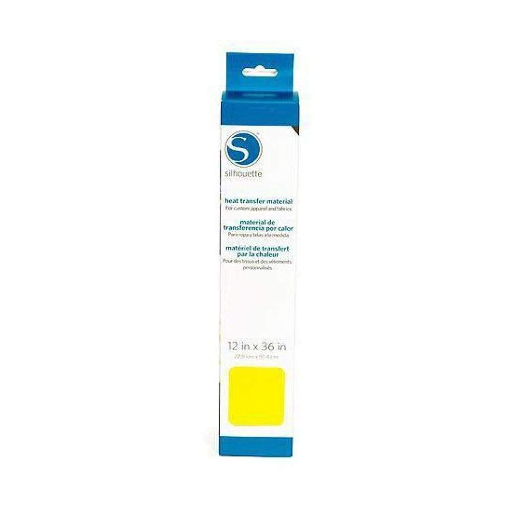Silhouette America - Smooth Heat Transfer Material - 12 x 36 inch - Lemon