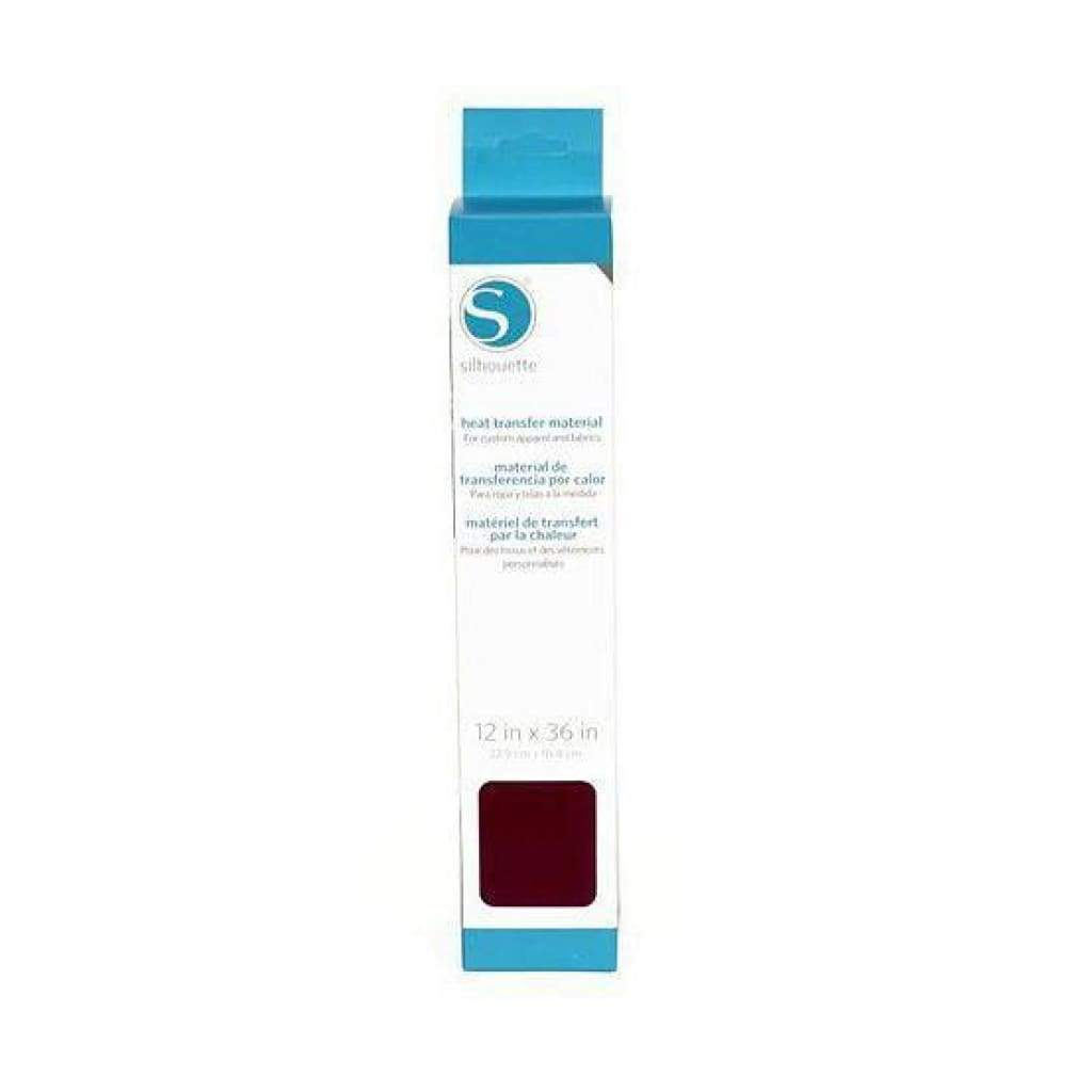 Silhouette America - Smooth Heat Transfer Material - 12 x 36 inch - Maroon