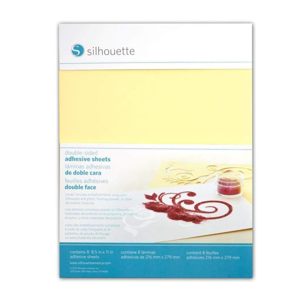 Silhouette Cameo - Double-Sided Adhesive Sheets