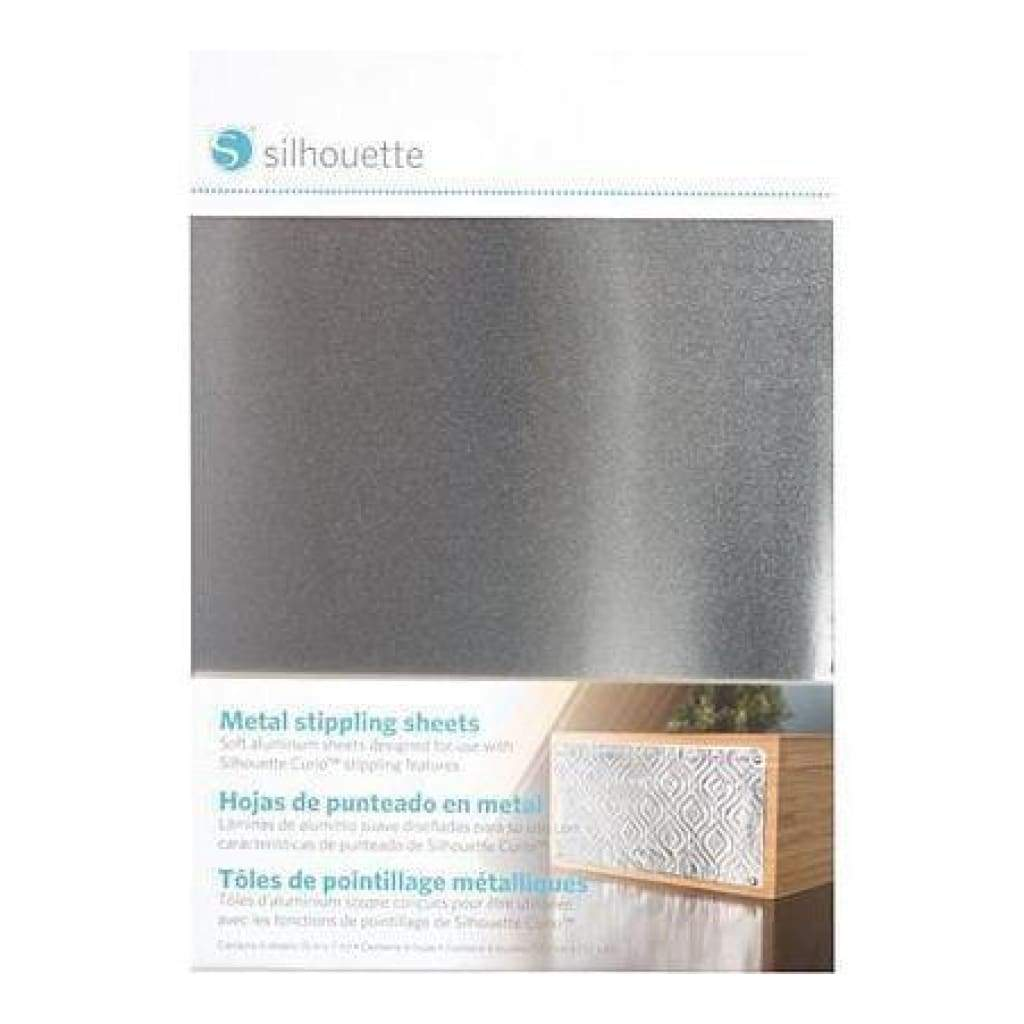 Silhouette Curio - 5 In. X 7 In. Metal Stippling Sheets