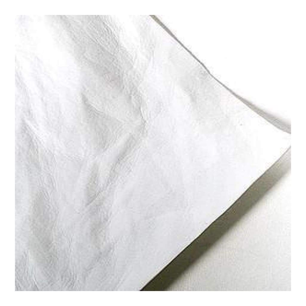 Silhouette - Faux Leather Paper - White