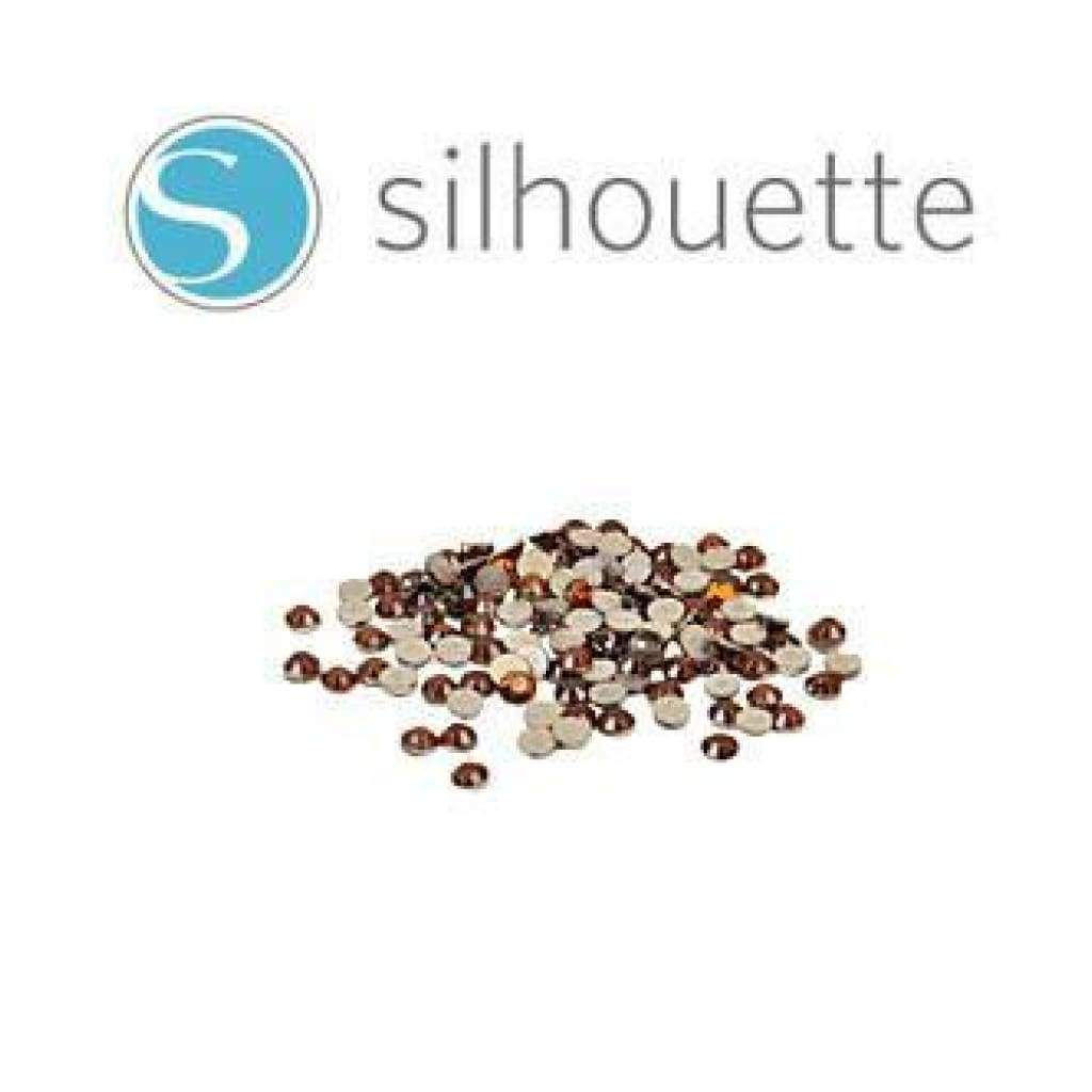 Silhouette - Rhinestones - Amber/Topaz - Size 3mm- 10SS