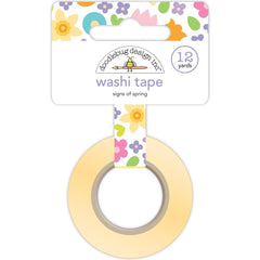 Doodlebug Washi Tape 15mmx12yd Signs Of Spring