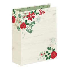 Simple Stories - Sn@p! Merry & Bright Binder 6 inch X8 inch