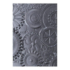 Sizzix 3D Texture Fades Embossing Folder By Tim Holtz Mechanics