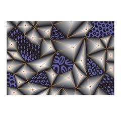 Sizzix 3D Textured Impressions Embossing Folder Jumbled Triangles