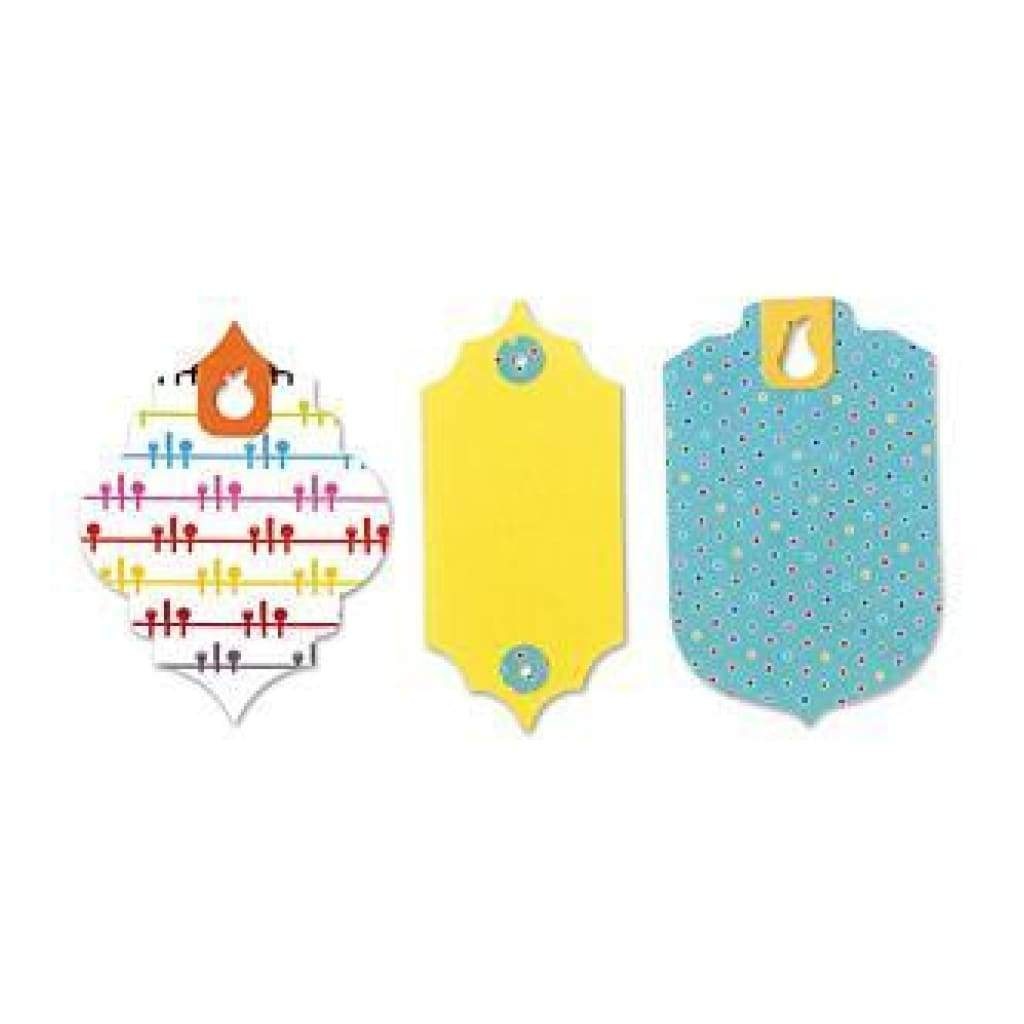 Sizzix Bigz Large Die By Where Women Cook 6X8.75 Tags With Fruit Holes