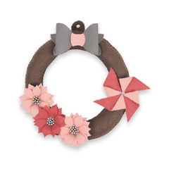 Sizzix - Bigz Plus Die - Hanging Wreath